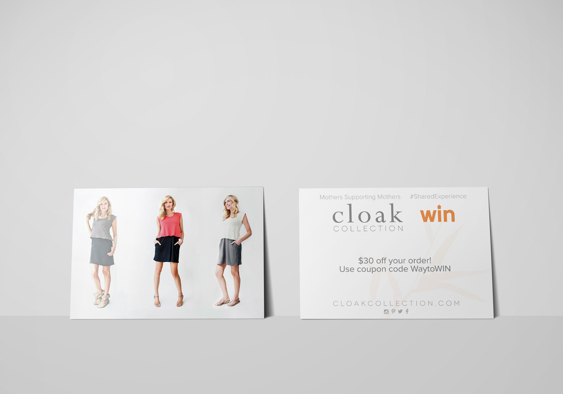 Cloak Collection Post Card