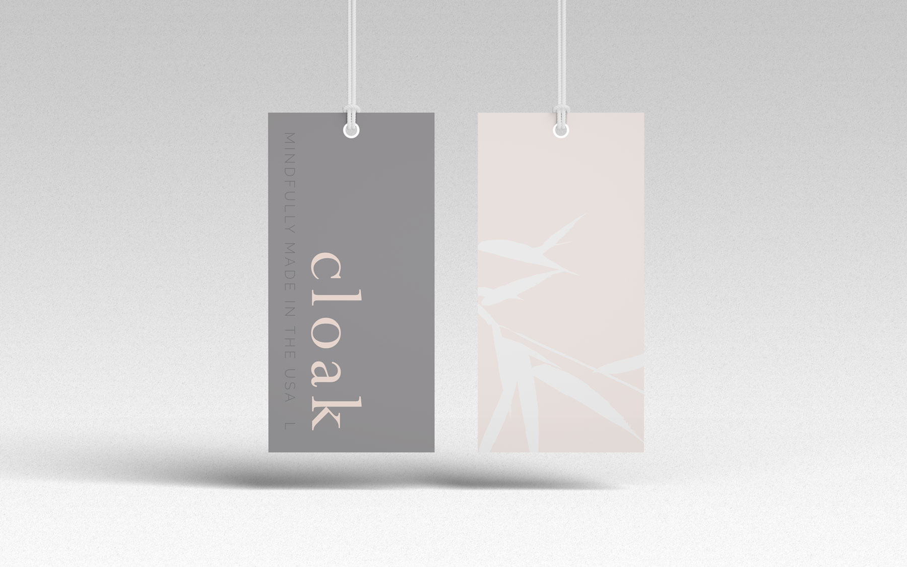 Cloak Collection Hang Tags